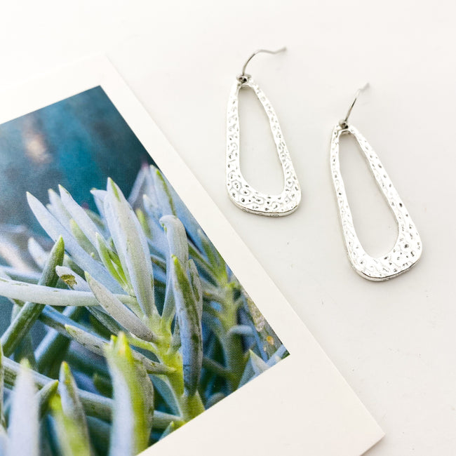 FUNKY DROP EARRINGS | SILVER