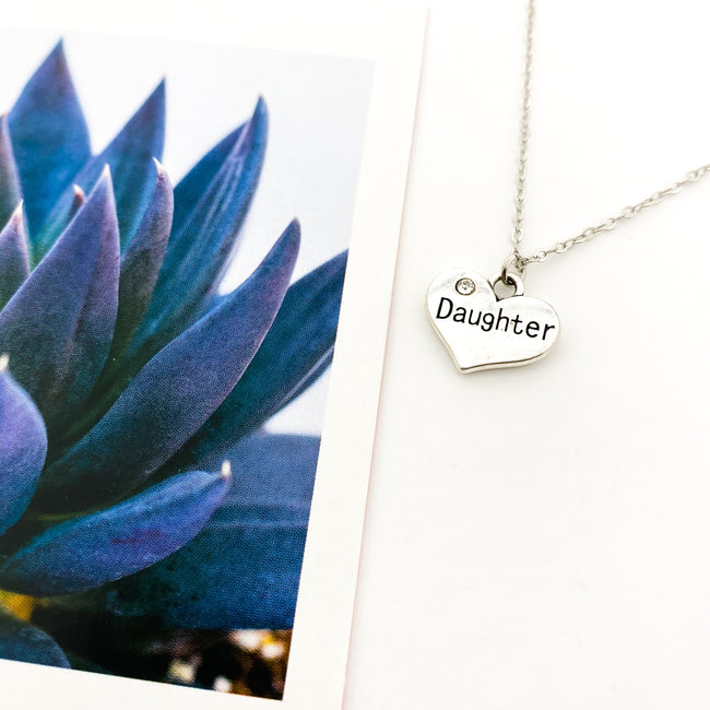 DAUGHTER NECKLACE | SILVER