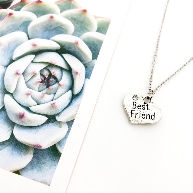 BEST FRIEND NECKLACE | SILVER