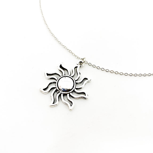 SUNSHINE NECKLACE | SILVER