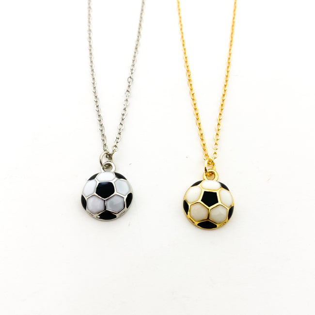 SOCCER BALL NECKLACES | STYLE OPTIONS