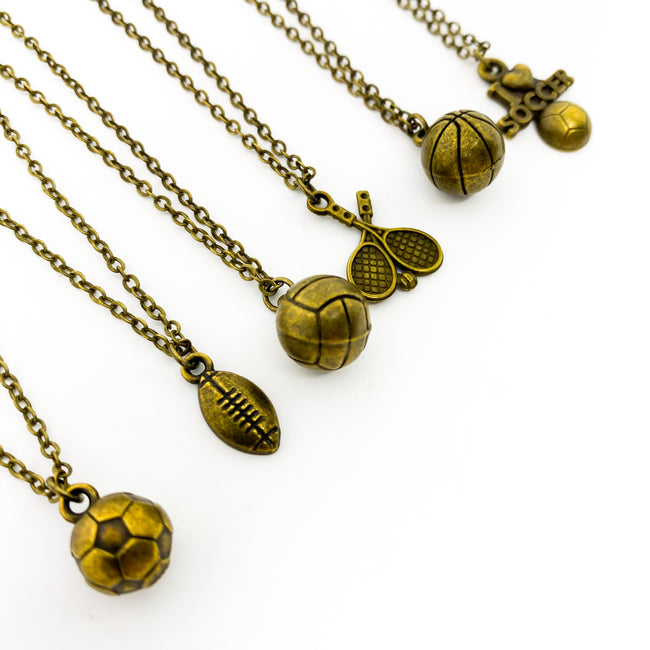 SPORT NECKLACES | BRONZE | STYLE OPTIONS