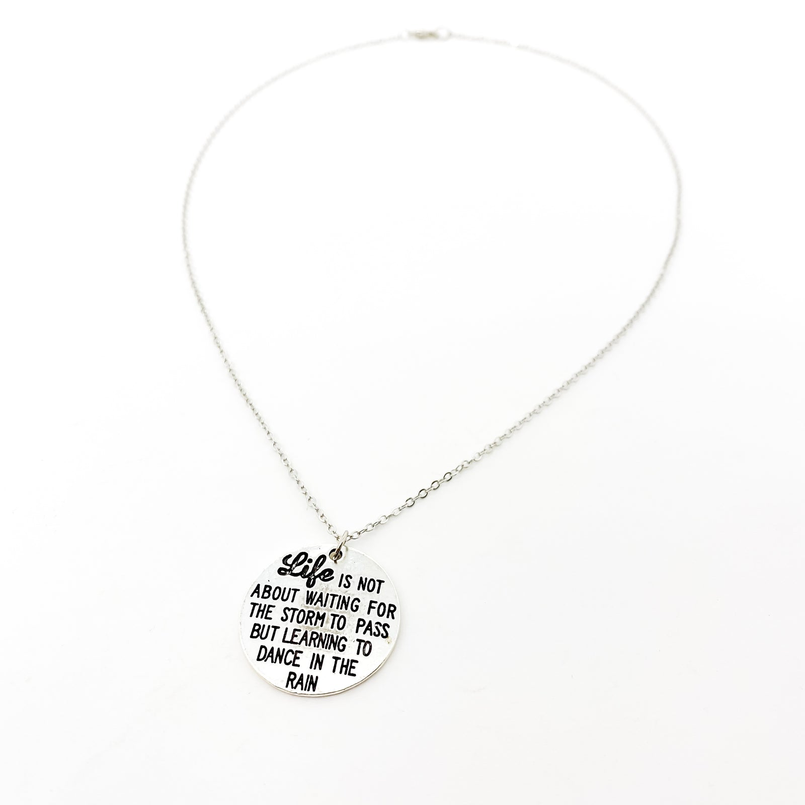 DANCE IN THE RAIN NECKLACE | SILVER