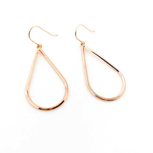 DROP EARRINGS | ROSE GOLD