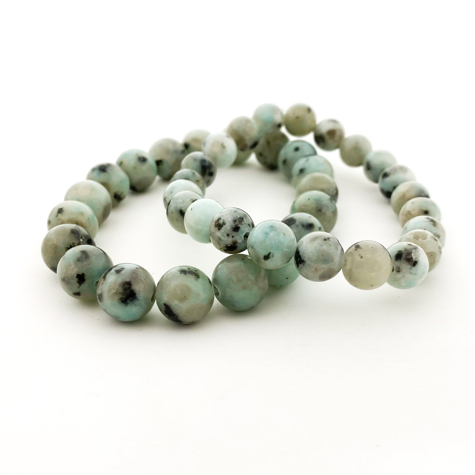 MINT DALMATIAN AGATE BRACELETS | SIZE OPTIONS
