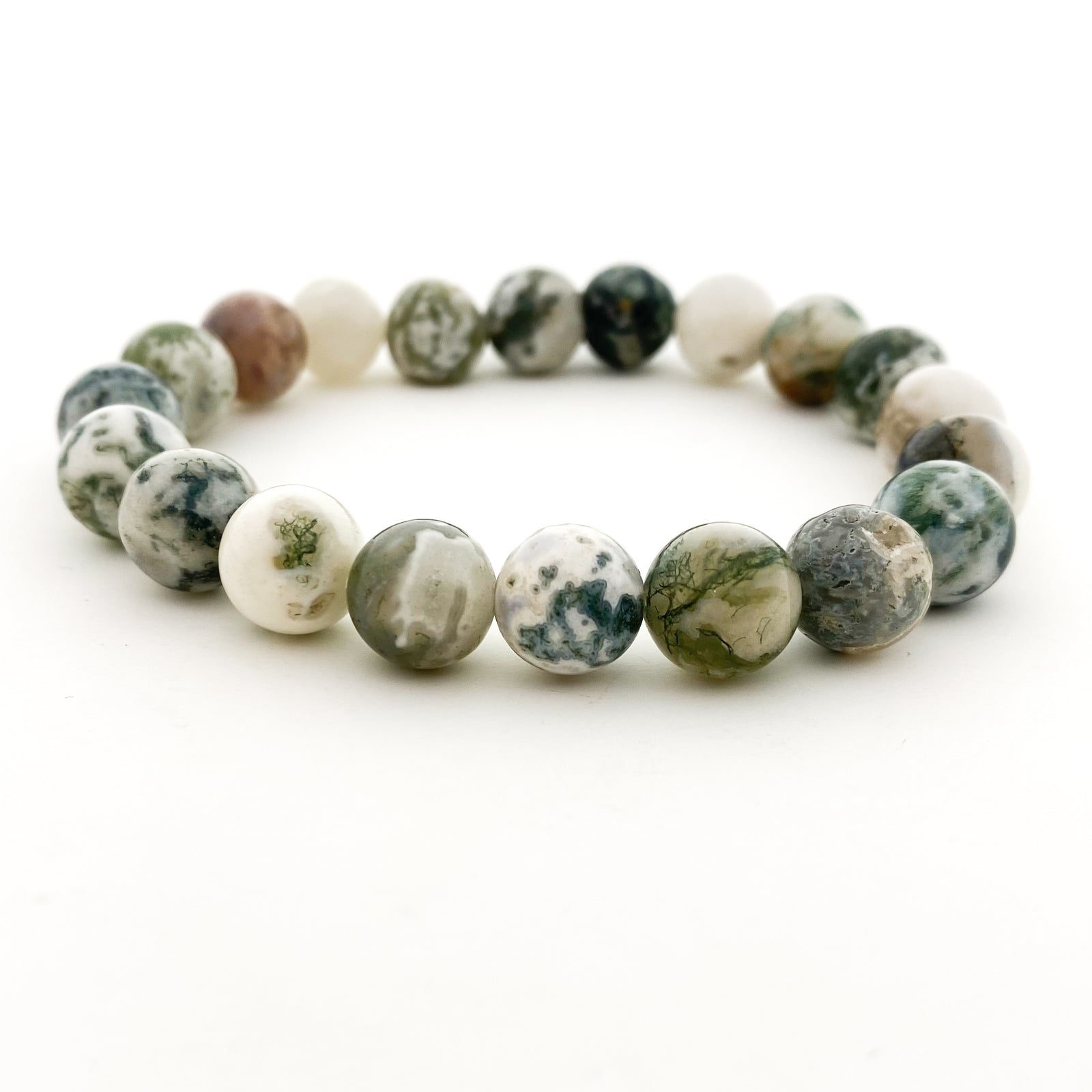EARTH JASPER STONE BRACELETS | SIZE OPTIONS