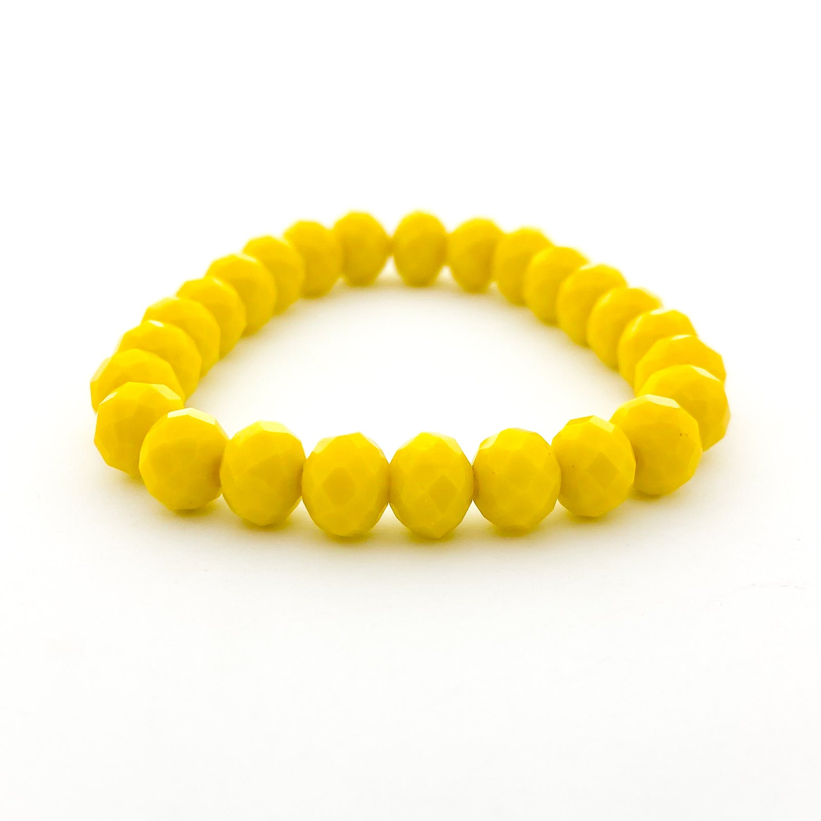 CRYSTAL BRACELETS | 8MM | BRIGHT COLOR OPTIONS