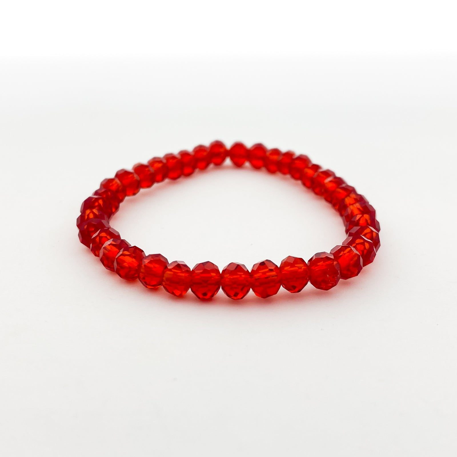 CRYSTAL BRACELETS | 6MM | REDS COLLECTION