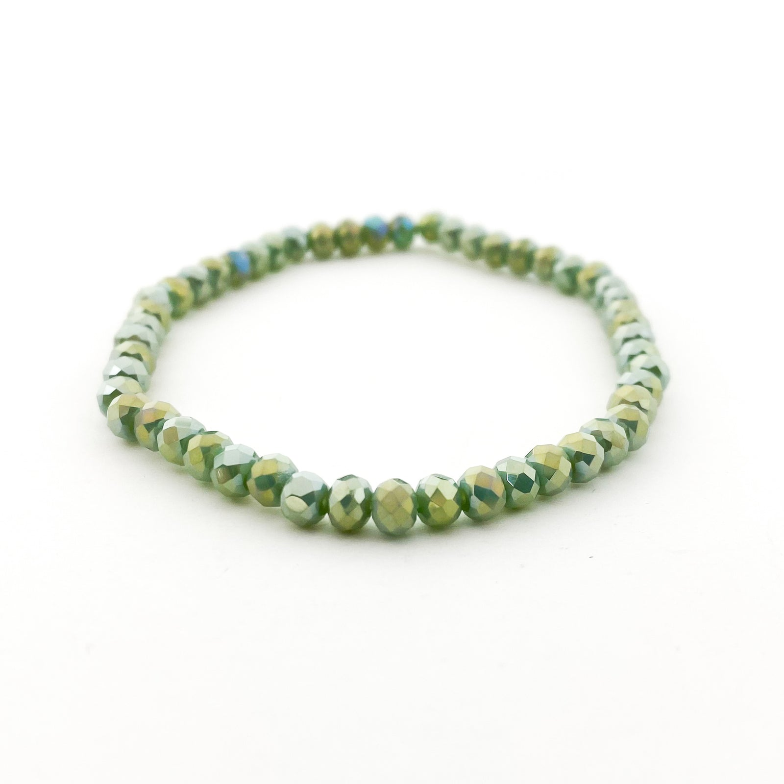 CRYSTAL BRACELETS | 4MM | GREENS COLLECTION