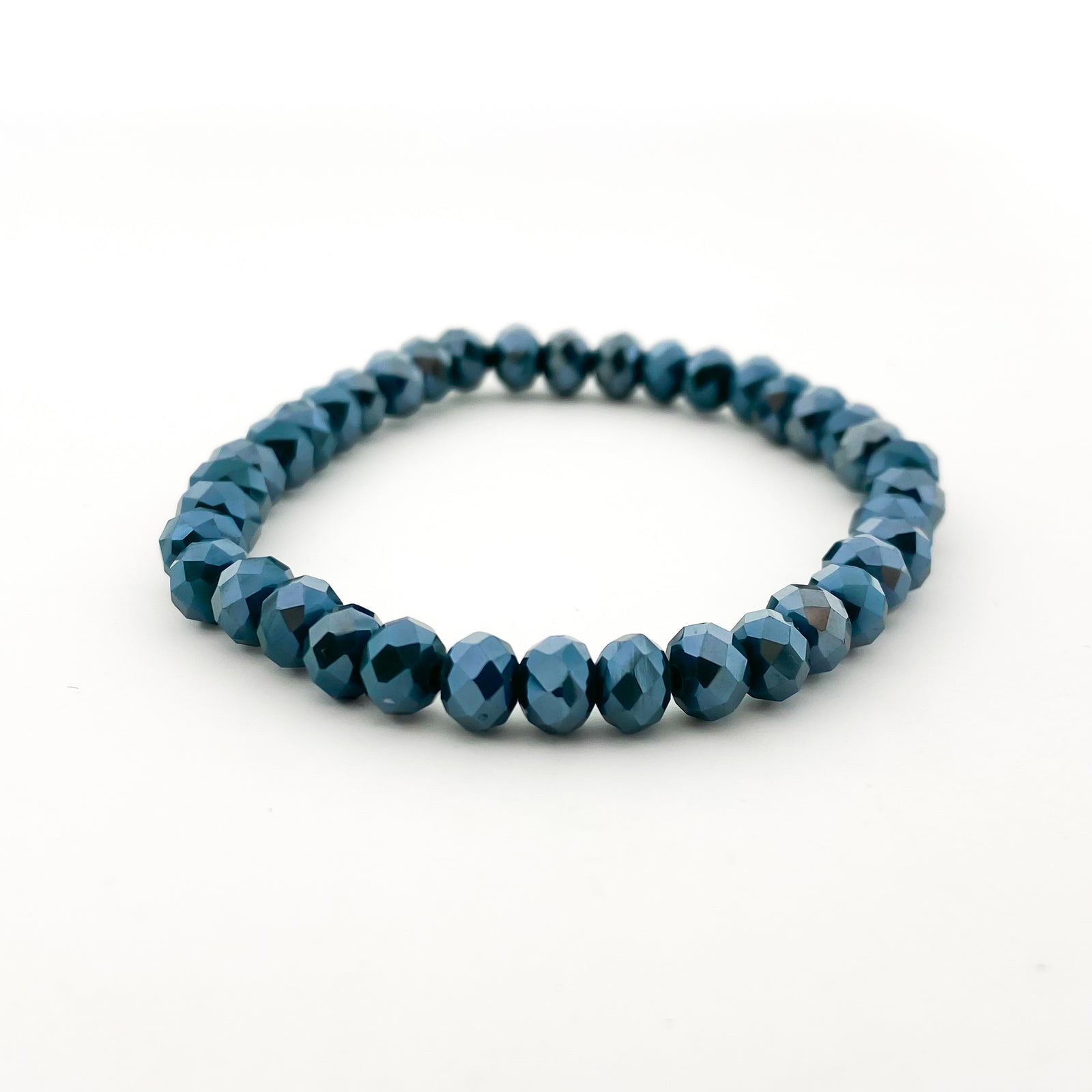 CRYSTAL BRACELETS | 6MM | BLUES COLLECTION