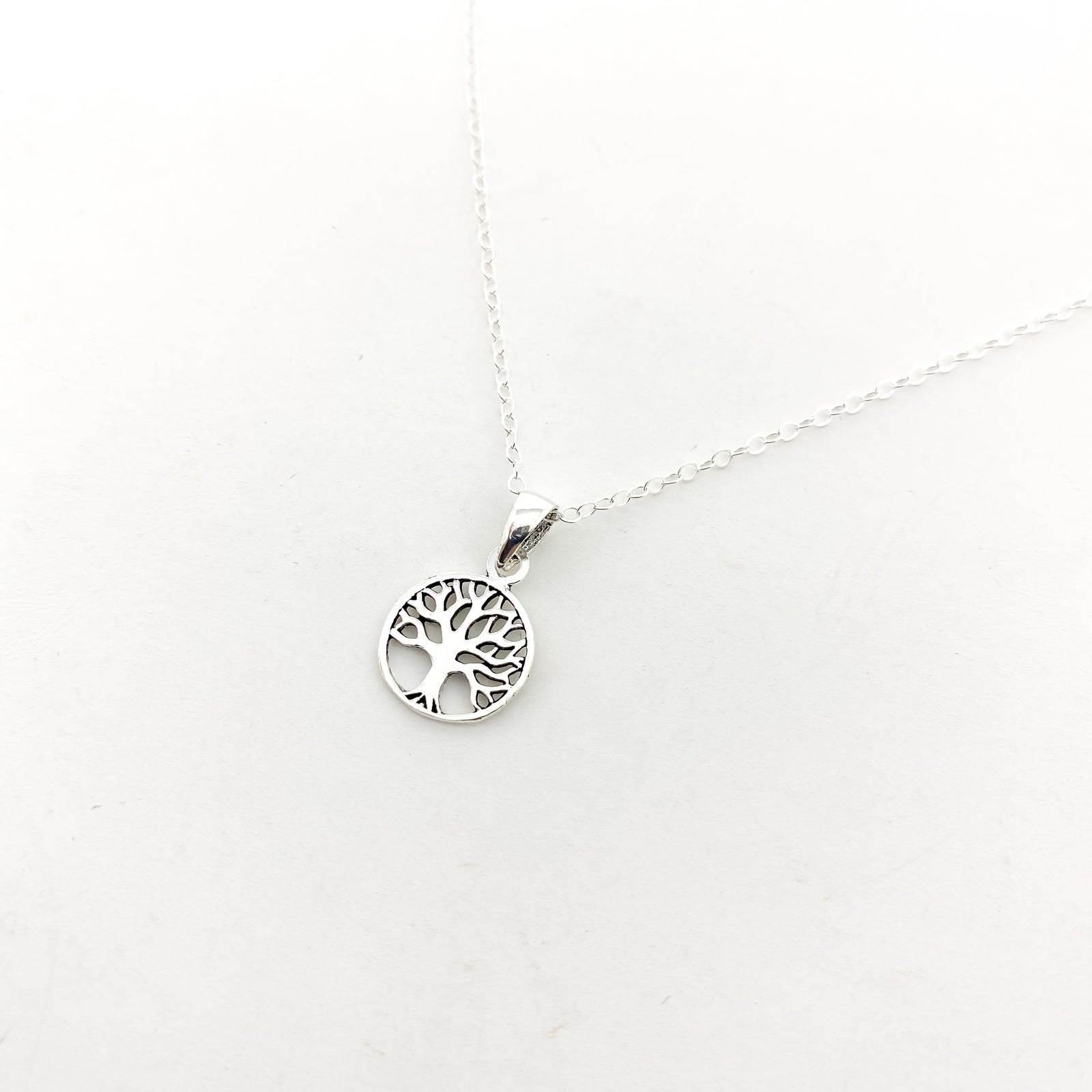 MINI TREE OF LIFE NECKLACE | STERLING SILVER
