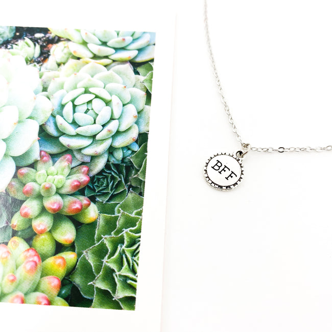 BFF NECKLACE | SILVER