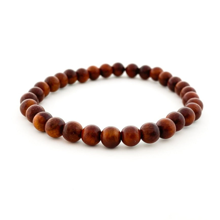 MENS ROSEWOOD BRACELETS | 6MM