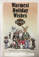HARLEY DAVIDSON® GROUP CHRISTMAS CARDS (PCK OF 10)
