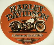 TIN SIGN - HARLEY DAVIDSON® A TIMELESS TRADITION