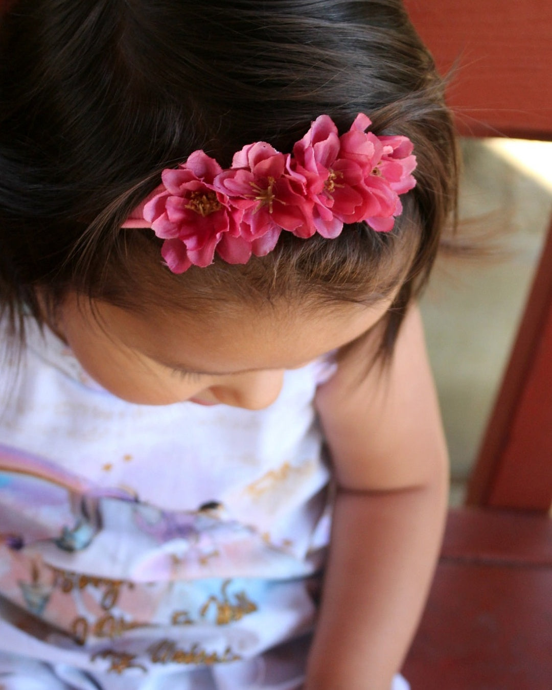 Pretty in Pink Floral Crown