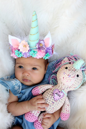 Unicorn Crown in Pastels