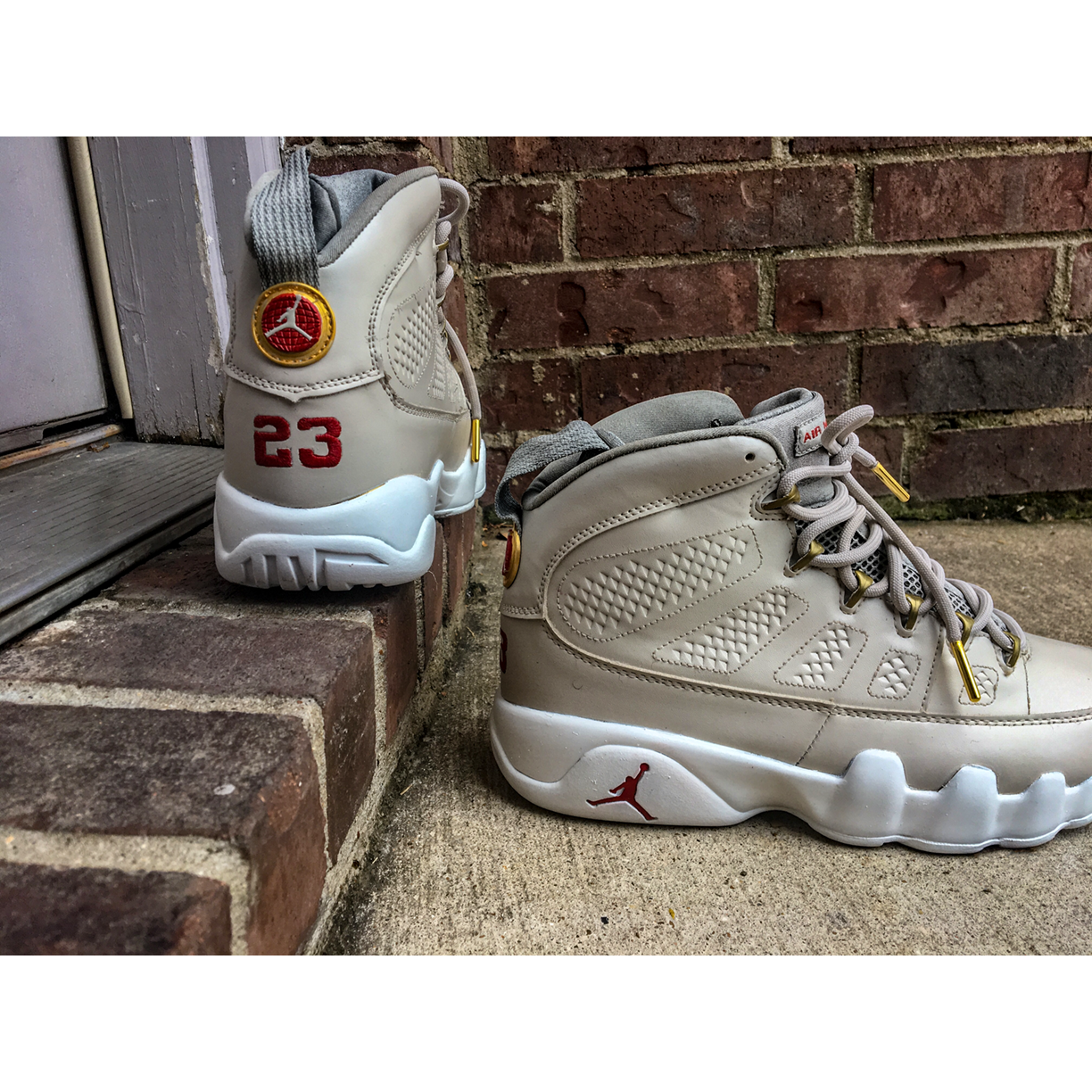Custom Don C Beach Jordan 9