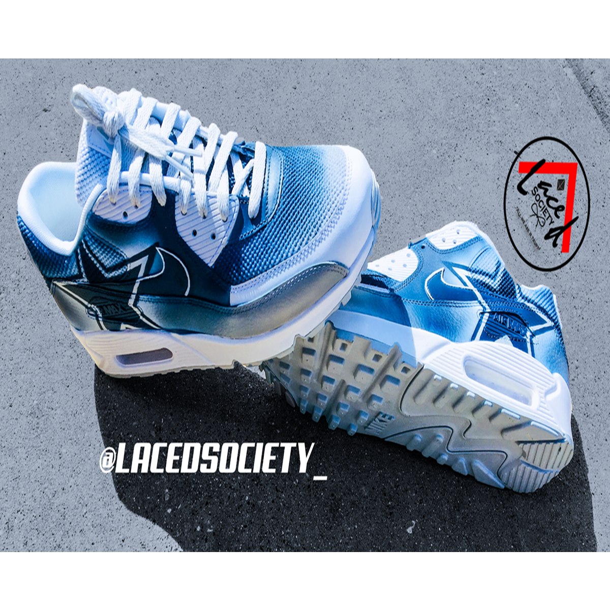 Custom Cowboys Air Max 90