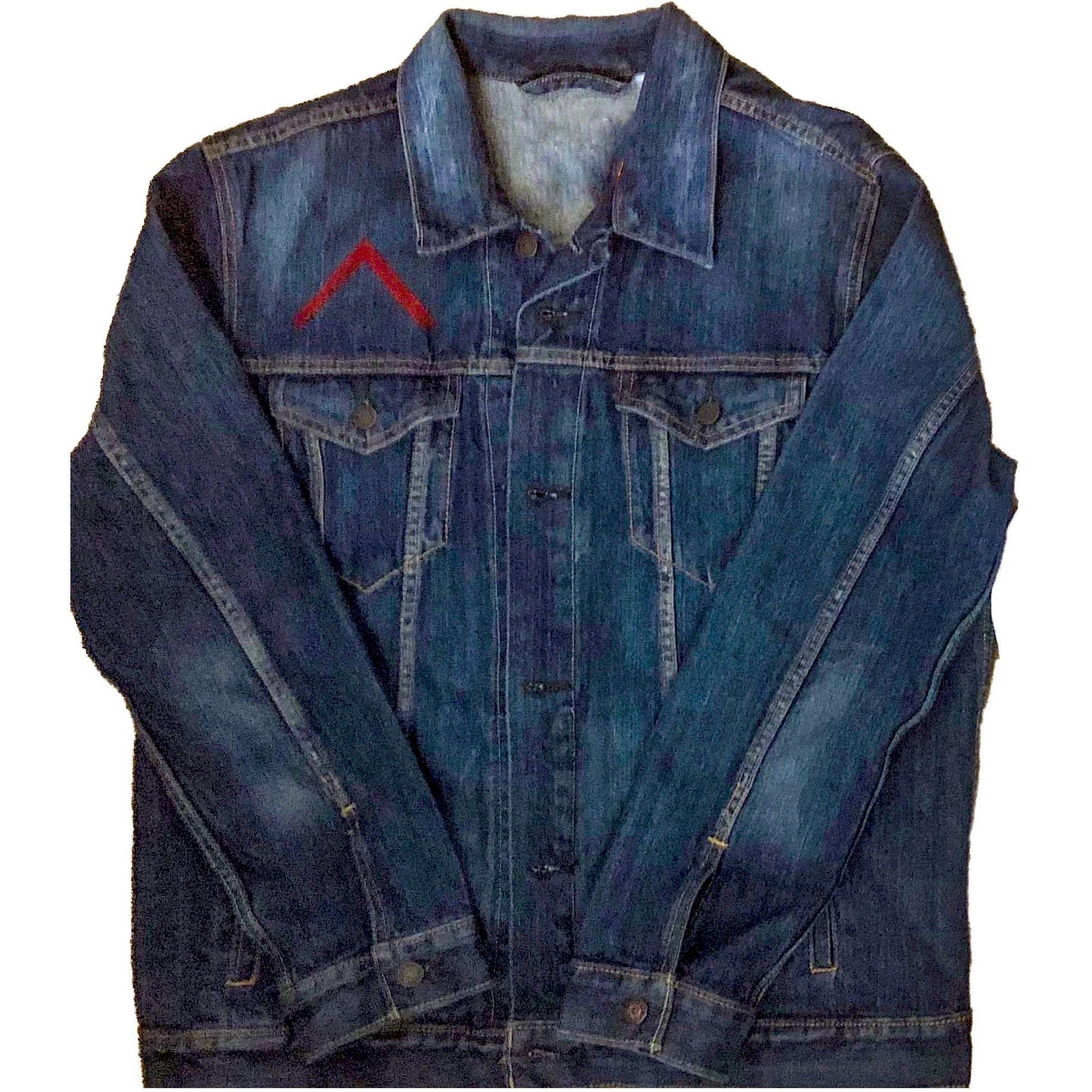 "Laced Society ""Signature Logo"" Denim Jacket"