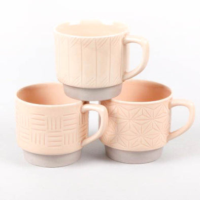Blush Patterned Mug