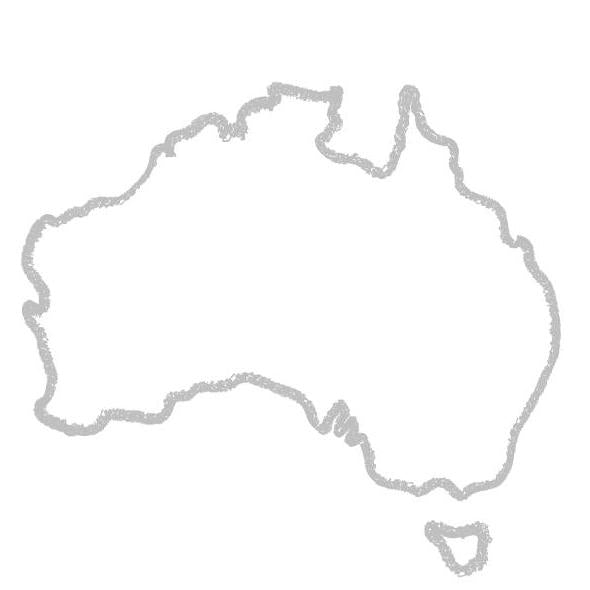 Toddlers Colouring Book - Australia