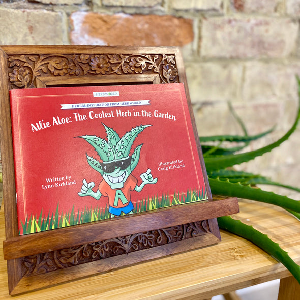Allie Aloe: The Coolest Herb in the Garden