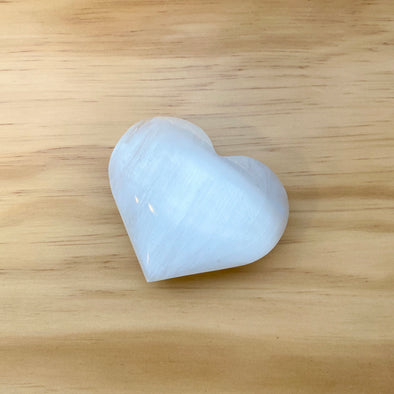Selenite Heart