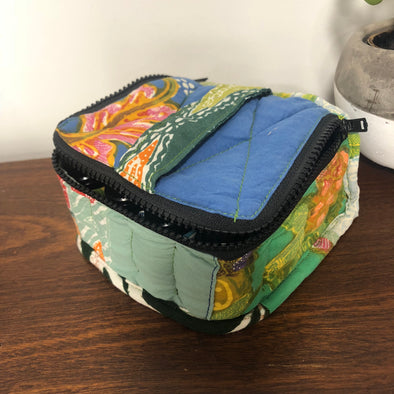 Recycled Fabric Oil Bags-Home Decor-Awaken Store