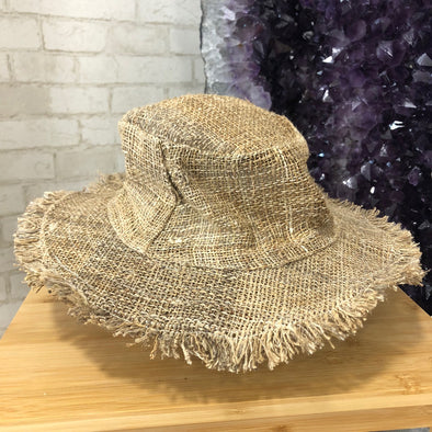 Hemp Hat - Fisherman Raw Edge