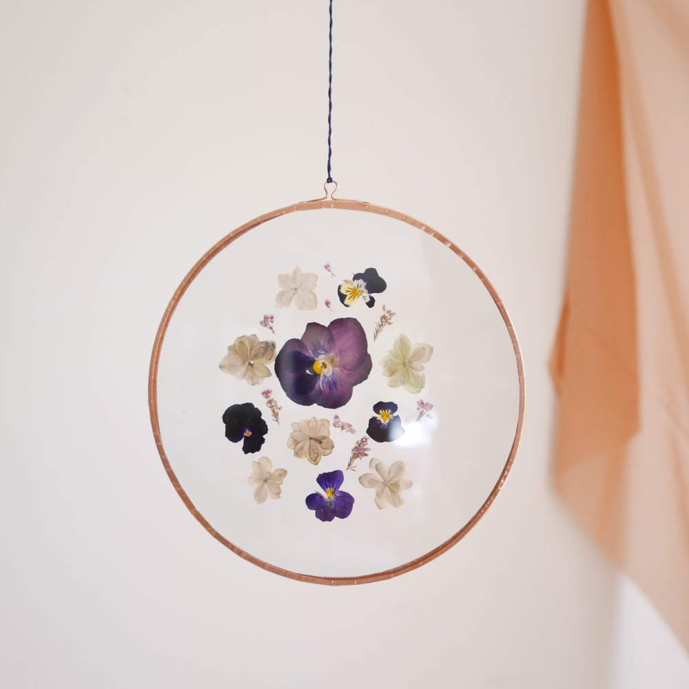 Pressed Flower Suncatcher-Home Decor-Awaken Store