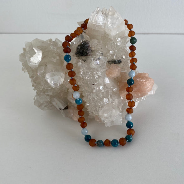 Amber Necklace - OCEAN