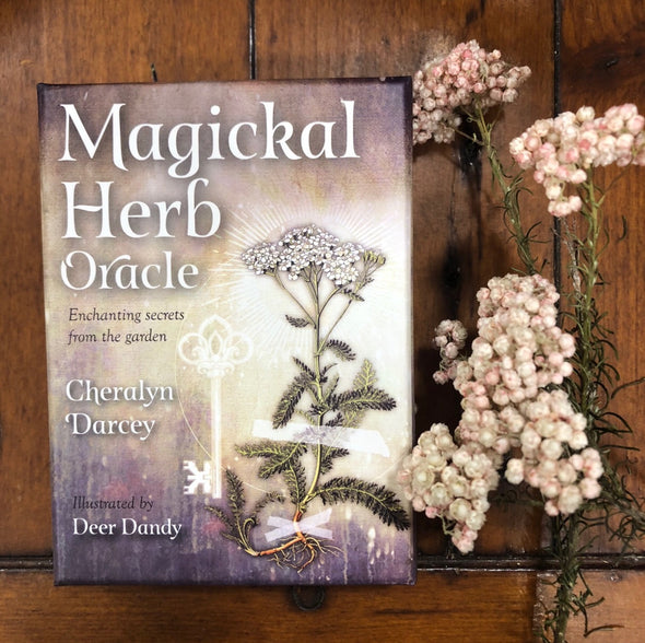 Magickal Herb Oracle Cards-Your Enlightenment-Awaken Store