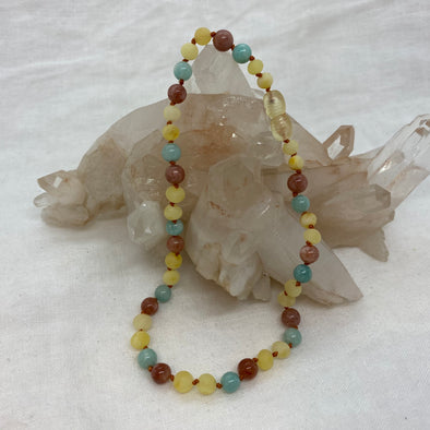 Amber Necklace - Surf