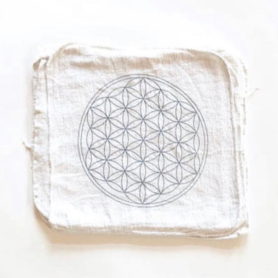 Crystal Grid Cloth - Flower of Life