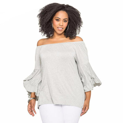 Viviana butterfly  top, plus size
