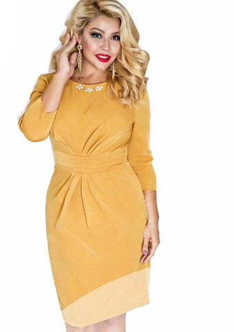Fabiana midi Sexy and casual Midi dress,  Curvy fashion, Plus size,