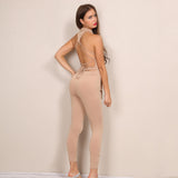 Cailyn backless jumpsuit