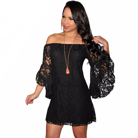 Sexy butterfly sleeve mini lace dress,  club wear, party dress,  see size chart,