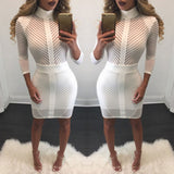 Sexy Mini turtle neck dress,  club wear, evening dress,  Fits true size,, alaganza.com