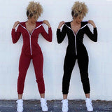 Casual hooded jumpsuit,  see size chart,