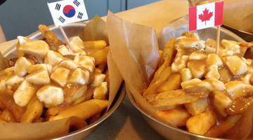 Canadian Korea at Oh Poutine!