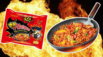 QUIZ: Test Your Nerve with this Fire Noodle Challenge!