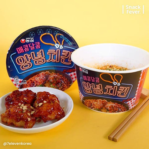 Nongshim Maekom Large Chicken Ramen Bowl (매콤달콤 양념치킨 큰사발면)