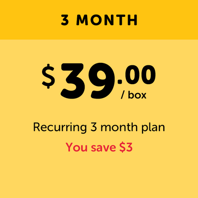 Deluxe - 3 Month Prepay