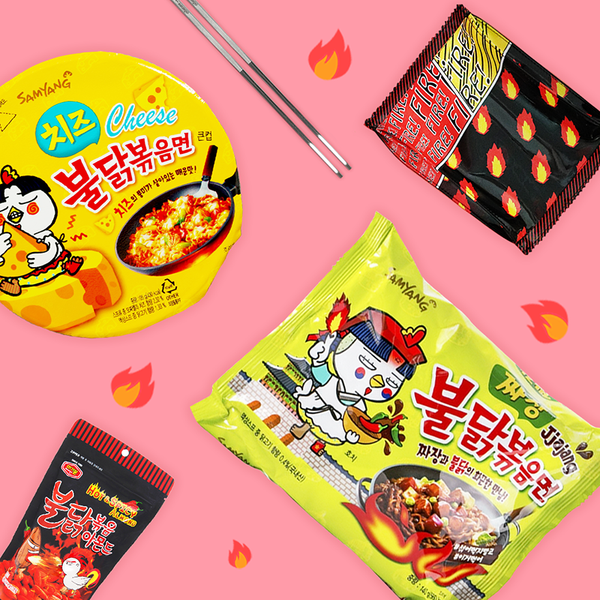 Fire Box - Spicy Noodles Set
