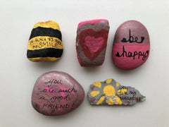 Kindness Rocks - crafts for kids and toddlers that teach kindness