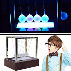 Kinetic Light Newton's Cradle