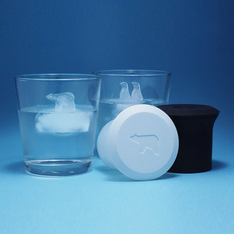 Polar Bear & Penguin Ice Cube Maker