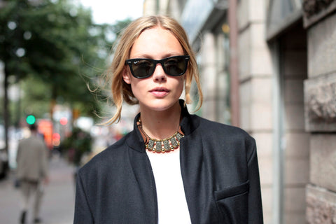 How to style sunglasses